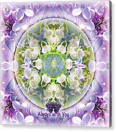 Always With You-2 Acrylic Print