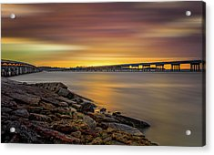 Acrylic Print featuring the photograph Amelia Island by Peter Lakomy