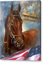 American Pharoah Acrylic Print