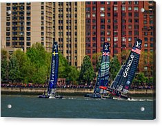 America's Cup World Series Nyc Acrylic Print