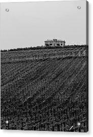 An Italian Farm In Abruzzo Acrylic Print by Andrea Mazzocchetti