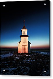 And There Was Light Acrylic Print by Todd Klassy