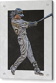 Andrew Mccutchen Pittsburgh Pirates Art Acrylic Print