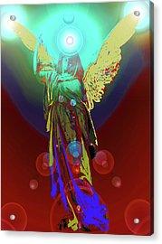 Angel Of Harmony No. 08 Acrylic Print by Ramon Labusch