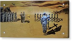 Angels Of The Sand Acrylic Print by Todd Krasovetz