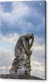Anguish Acrylic Print by Randy Steele