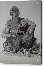 Another Day Acrylic Print by Lemington  Muzhingi