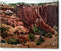 Antelope House Overlook 2003 Acrylic Print by Donald Maier
