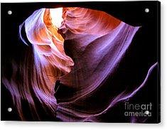 Antelope Slot Canyons Acrylic Print