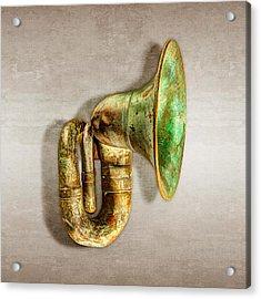 Antique Brass Car Horn Acrylic Print