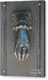 Antique Door Knocker Acrylic Print by Elena Elisseeva