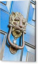 Antique Knocker Acrylic Print by Tom Gowanlock