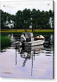Acrylic Print featuring the painting Apalach by Rick McKinney