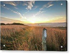 Appalachian Trail Sunrise Acrylic Print