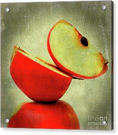 Apples Acrylic Print by Bernard Jaubert