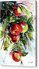 Apples Acrylic Print by Kovacs Anna Brigitta