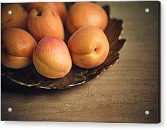 Apricots Acrylic Print by Nailia Schwarz