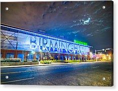 April 2015 - Birmingham Alabama Regions Field Minor League Baseb Acrylic Print
