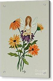 April Acrylic Print by Terri Mills