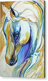 Arabian Abstract Acrylic Print