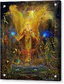 Archangel Michael-angel Tarot Card Acrylic Print