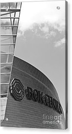 Architectural Modern Building The Bok Center In Tulsa Acrylic Print by ELITE IMAGE photography By Chad McDermott