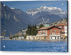 Arco Castle Acrylic Print by Andre Goncalves