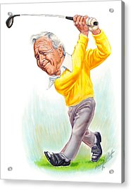 Arnie Acrylic Print