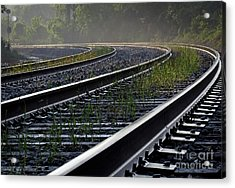 Around The Bend Acrylic Print by Douglas Stucky