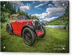 Arriving In Style Acrylic Print