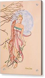 Art Nouveau Acrylic Print by Steve Jones