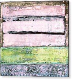 Acrylic Print featuring the painting Art Print Sierra 5 by Harry Gruenert