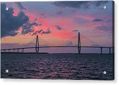 Acrylic Print featuring the photograph Arthur Ravenel Bridge by RC Pics