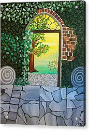 Arthurs Gate Acrylic Print by Carolyn Cable