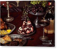 Artistic Food Still Life Acrylic Print by Oleksiy Maksymenko