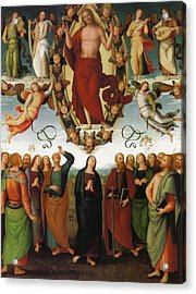 Ascension Of Christ Acrylic Print by Pietro Perugino