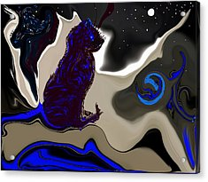 Astrology Class Acrylic Print by Sherri's - Of Palm Springs