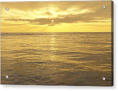 Acrylic Print featuring the digital art Ocean View by Mark Greenberg