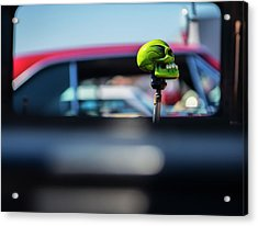 At The Car Show Acrylic Print by Larry Helms