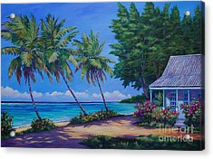 At The Island's End Acrylic Print
