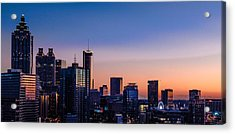Atlanta Sunset Acrylic Print