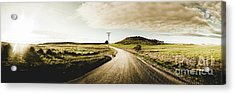 Australian Rural Road Acrylic Print