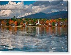Autumn In Melvin Village Acrylic Print