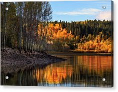 Autumn In The Wasatch Mountains Acrylic Print