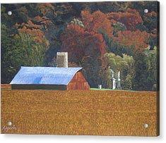 Autumn Of Our Father's Acrylic Print by Harvey Rogosin