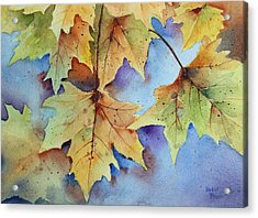 Autumn Splendor Acrylic Print by Bobbi Price