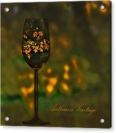 Autumn Vintage Acrylic Print