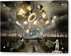 Autum_waltz Acrylic Print by Alexander Kruglov