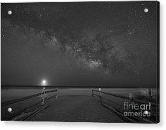 Avalon New Jersey Milky Way Rising  Acrylic Print