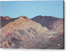 Acrylic Print featuring the photograph Avawatz Mountain by Jim Thompson